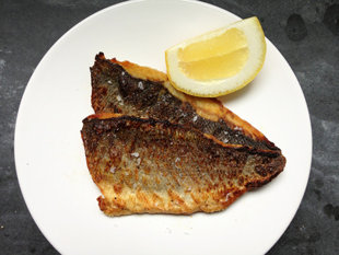 Crispy fish, sans recipe
