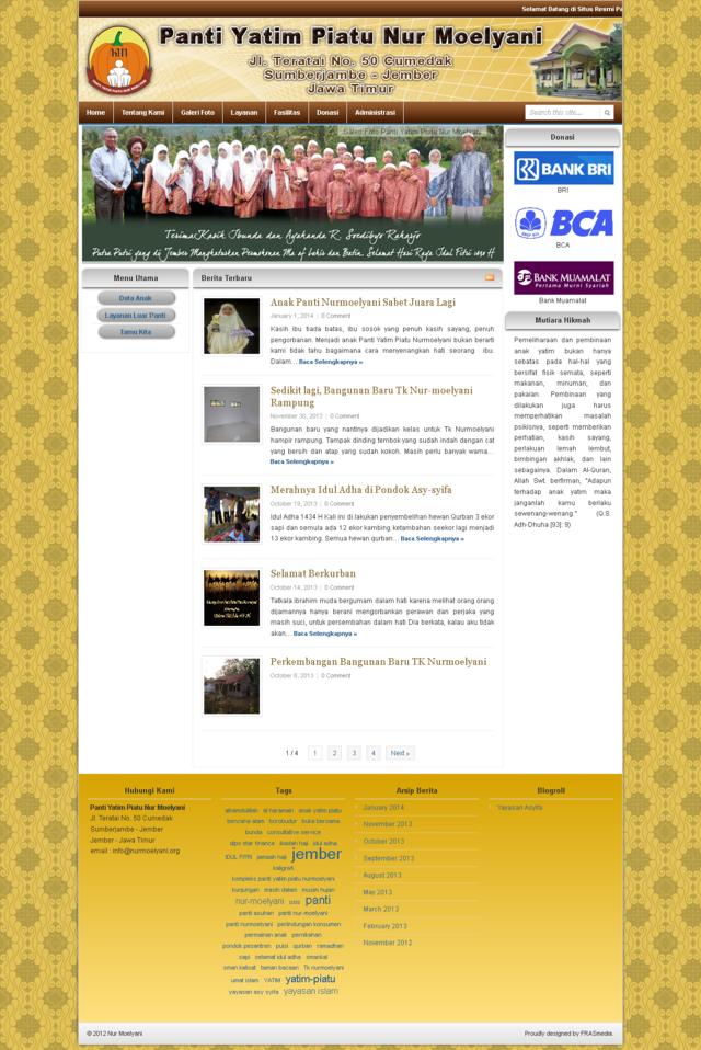 Panti Yatim Piatu Nur Moelyani Ledokombo Jember Jawa Timur