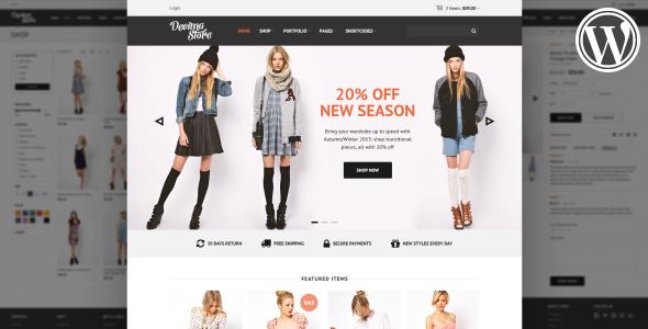 Decima WooCommerce WordPress Theme - WP e-Commerce eCommerce