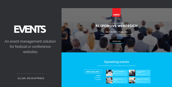 Events - Conference and Festival WordPress Theme - Events Entertainment